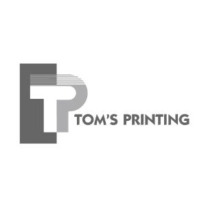 Tom's Printing Logo