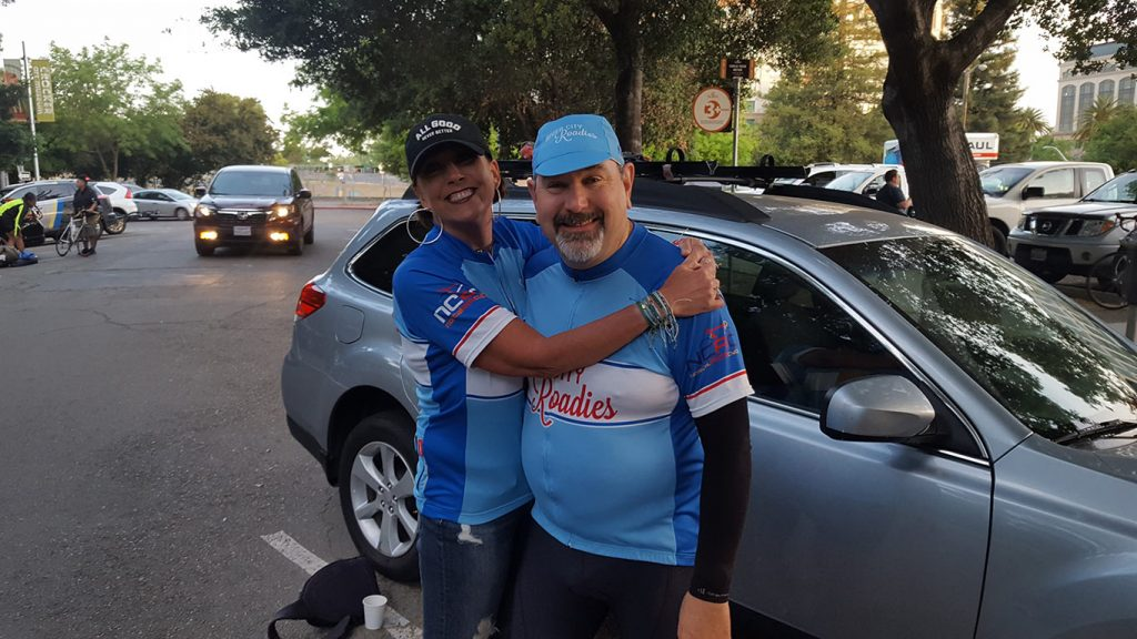 an image from the NorCal AIDS Cycle event